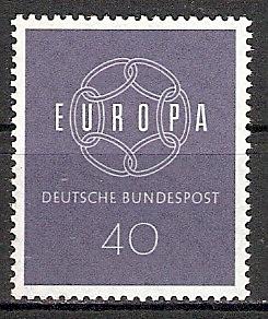 BRD 321 ** Europa CEPT 1959 (2015390)