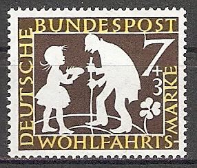 BRD 322 ** Wohlfahrt 1959 Sterntaler (2015386)