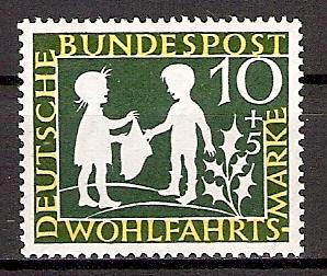 BRD 323 ** Wohlfahrt 1959 Sterntaler (2015174)