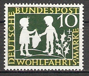 BRD 323 ** Wohlfahrt 1959 Sterntaler (2015387)
