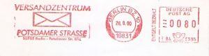 Freistempel E84 5595 Berlin BZ 10 - Versandzentrum (#391)