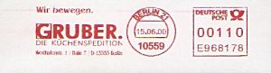 Freistempel E968178 Berlin - Küchenspedition Gruber (#7)