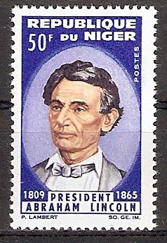 Niger 94 ** Abraham Lincoln (2017141)