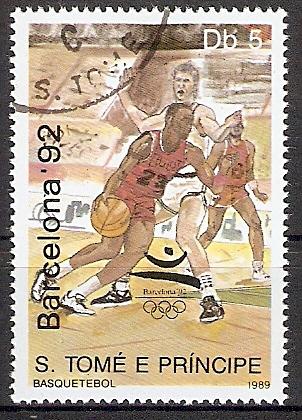 Sao Tome & Principe 1124 o Basketball (2018156)