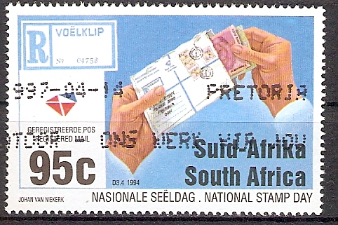 Südafrika 942 o Nationaler Briefmarkentag 1994 (201794)