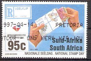 Südafrika 942 o Nationaler Briefmarkentag 1994 (201794)