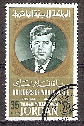 Jordanien 635 A o John F. Kennedy (2017208)