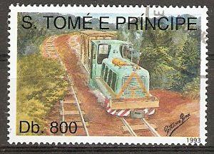 Sao Tome & Principe 1414 o Lok auf Überholgleis (2015830)