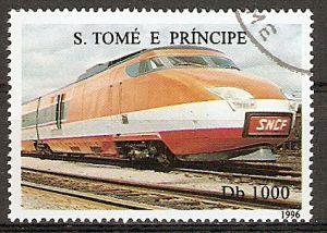 Sao Tome & Principe 1689 o TGV - Frankreich (2015831)