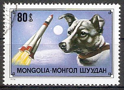Mongolei 1178 o Weltraumhündin Laika (2017480)