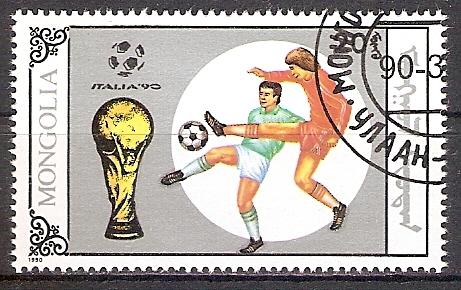 Mongolei 2121 o Fußball WM 1990 (2017476)