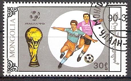 Mongolei 2122 o Fußball WM 1990 (2017477)