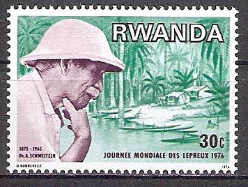 Ruanda 776 A ** Albert Schweitzer (2017665)