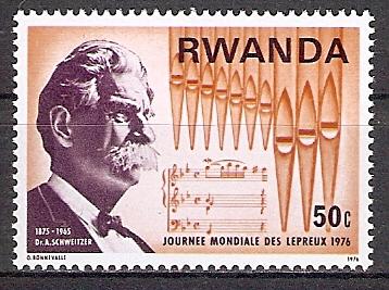 Ruanda 777 A ** Albert Schweitzer (2017669)