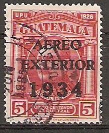 Guatemala 273 o AEREO / EXTERIOR / 1934 (2015931)