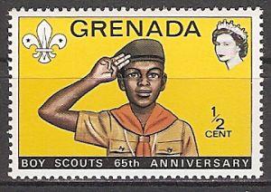 Grenada 488 ** 65 Jahre Pfadfinderbewegung (2015478)