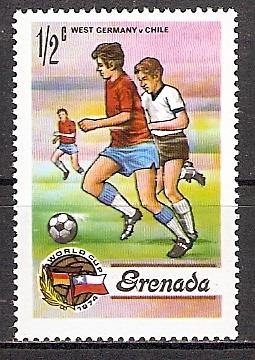 Grenada 574 ** Fußball WM 1974 (2015484)