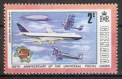Grenada 591 ** UPU / Flugzeuge (2018313)