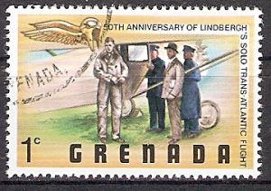 Grenada 873 o Charles Lindbergh (2018204)
