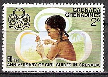 Grenadinen 167 ** Pfadfinderinnen auf Grenada (2015512)