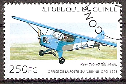 Guinea 1541 o Flugzeug \