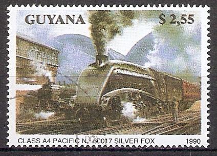 Guyana 3170 o Dampflok Pacific Silver Fox (201855)