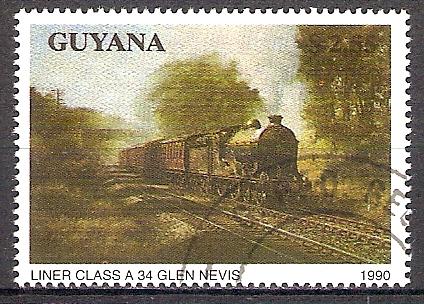 Guyana 3171 o Dampflok Liner Class A34 Glen Nevis (201856)