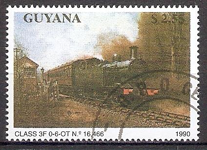 Guyana 3174 o Dampflok Class 3F 0-6-OT (201858)