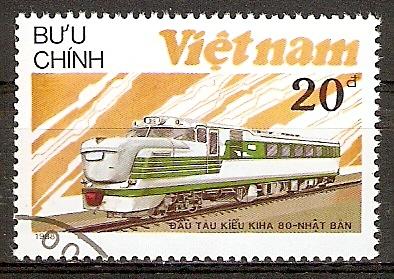Vietnam 1968 o Lokomotive KIHA-80 (2015854)