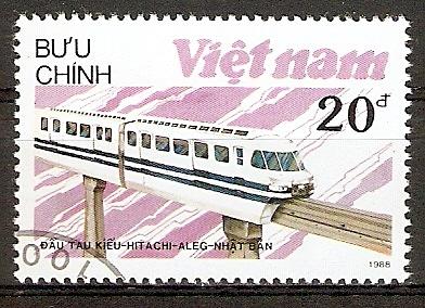 Vietnam 1969 o Lokomotive HITACHI (2015840)