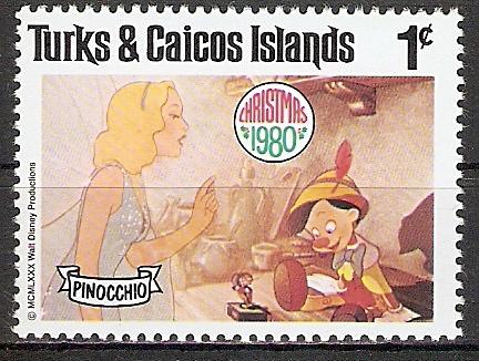 Turks und Caicos Inseln 505 ** Pinocchio (2017555)