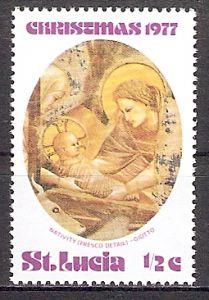 St. Lucia 420 ** Weihnachten 1977 (2017658)