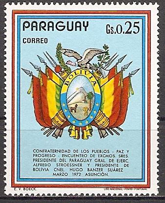 Paraguay 2347 ** Bolivien (2015509)
