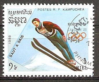Kambodscha 914 o Skispringen (20151051)