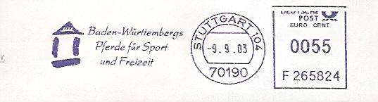 Freistempel F265824 Stuttgart - Pferdezuchtverband (#62)