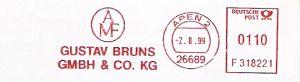Freistempel F318221 Apen - AMF Gustav Bruns GmbH (#316)