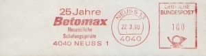 Freistempel Neuss - 25 Jahre Betomax (#65)