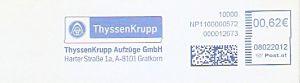 Freistempel Österreich NP1100000572 Gratkorn - ThyssenKrupp (#288)
