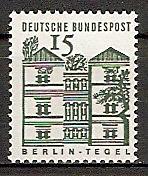 BRD 455 ** 15 PF Kleine Bauwerke (2015246)