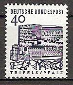 BRD 457 ** 40 PF Kleine Bauwerke (2015245)