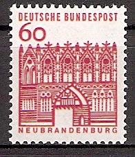 BRD 459 ** 60 PF Kleine Bauwerke (2015210)