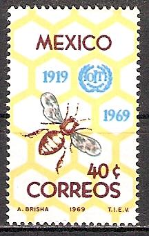 Mexiko 1311 ** Internationale Arbeitsorganisation (2015520)