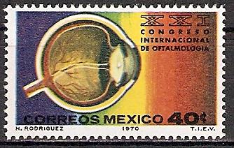 Mexiko 1325 ** Kongress der Augenärzte (2015516)