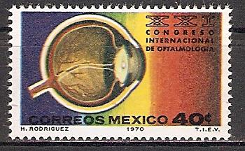 Mexiko 1325 ** Kongress der Augenärzte (2015517)