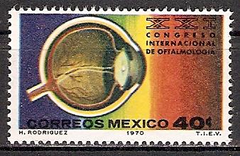 Mexiko 1325 ** Kongress der Augenärzte (2015518)