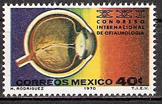 Mexiko 1325 ** Kongress der Augenärzte (2015519)