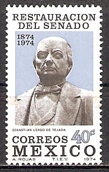 Mexiko 1429 ** Sebastián Lerdo de Tejada (2015521)