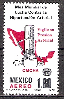 Mexiko 1582 ** Kampf gegen Bluthochdruck (2015524)