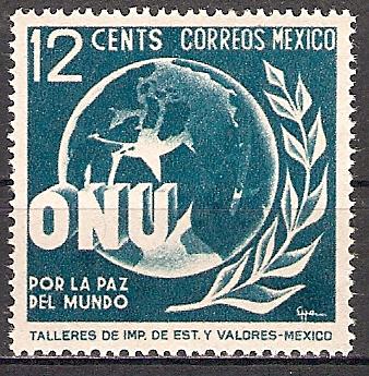Mexiko 901 ** Vereinte Nationen 1946 (2015525)