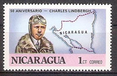 Nicaragua 1986 ** Charles Lindbergh (2017663)
